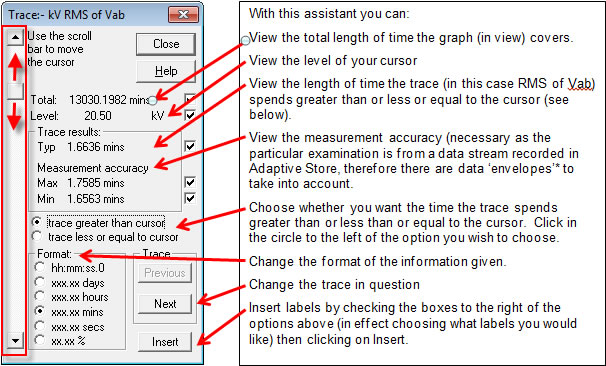 Pronto Software Examine Function Trace Level