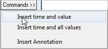 Pronto Software Commands Menu