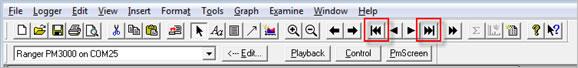 Pronto Software Tool bar