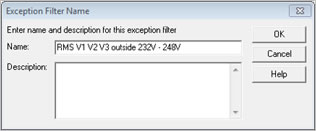 Pronto Software Exception Filter Name