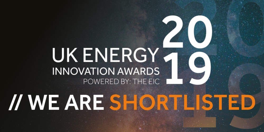 Shortlisted for UK energy innovation awards 2019